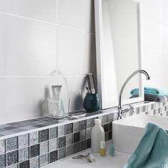 Faence Mur Blanc Tonic L25 X L50 Cm 12