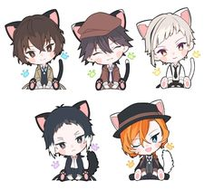 Bungou Stray Dogs _Follow!??_ _Me_ Stray Dogs Anime, Bongou Stray Dogs, Edogawa Ranpo, Chibi Characters, Kawaii, Manga Drawing, Anime Chibi, Anime Art Girl, Cute Drawings