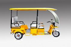 BSC passenger electric tricycle could carry up to passengers (Excluded Driver). Great for electric taxi, rental, and public transport. Electric Tricycle, Public Transport, Electric Trike