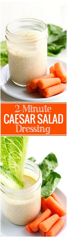 This is the easiest, homemade Caesar salad dressing. Caesar salad dressing is made using pantry ingredients. New Recipes, Cooking Recipes, Dinner Recipes, Favorite Recipes, Recipies, Caesar Salat, Classic Caesar Salad, Dips, Healthy Snacks