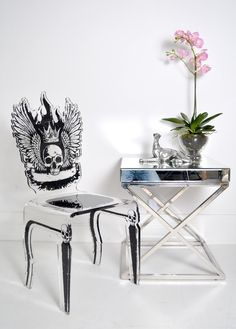 Skull Rock Chair