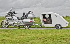 Motorcycle and Caravan by CWhatPhotos, via Flickr