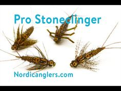 Nymph Fly Tying lesson - Step by step : Pro Stoneclinger Nymph Fly Tying, Nymph, Trout, Fly Fishing, The Good Place, Stone, Videos, Youtube, Nymphs