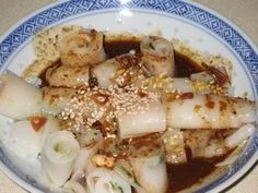 cheong fun (with sauce recipe)