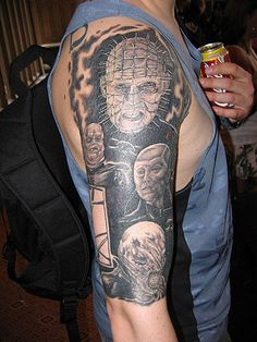 hellraiser tattoos