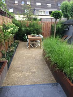 grasses in raised beds Apartment Balcony Garden, Balcony Plants, Small Gardens, Outdoor Gardens, Small Balcony Design, Garden Privacy, London Garden, Garden Deco, Garden Architecture