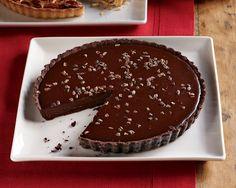 Salted Caramel Truffle Tart