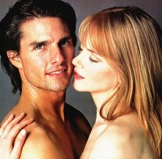 Tom Cruise and Nicole Kidman, by Herb Ritts, 1999