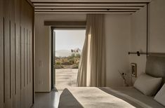 Villa Mandra by K-Studio — MODEDAMOUR Cabinet D Architecture, Architecture Design, Greece Architecture, Patio Interior, Home Interior, Interior Design, Studio 21, Living Area, Living Spaces