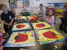 Georgetown Elementary Art Blog » Blog Archive » Cutest. Ladybug. Project. Ever.