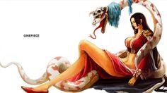 Boa Hancock Anime Girl Sexy One Piece Snake 1920x1080