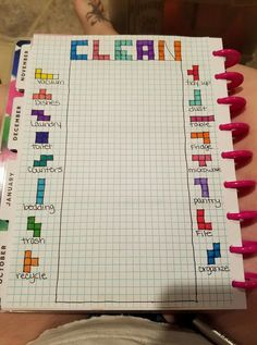 A must add to BuJo. Shared from Facebook Bullet Journal Junkies