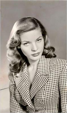 Lauren Bacall love the hounstooth