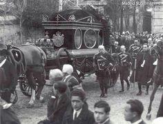 Año 1929 Entierro de Maria Cristina de Hasburgo