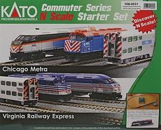Starter Sets and Packs 22547: Kato-Mp36ph Commuter Train Starter Set -- Metra - N -> BUY IT NOW ONLY: $224.79 on eBay!