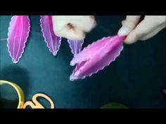 [Hoa voan] - Hướng dẫn chi tiết cách làm Hoa Lily - YouTube