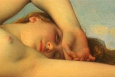 Detail from The Birth of Venus ,1863 by Alexandre Cabanel