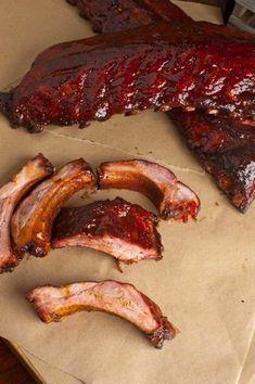 Bbq Ribs Marinade, Bbq Rub, Baby Back Rib Marinade Recipe, Rib Recipes, Smoked Meat Recipes, Turkey Recipes, Grilled Baby Back Ribs, Ribs Seasoning, Smoked Pork Ribs