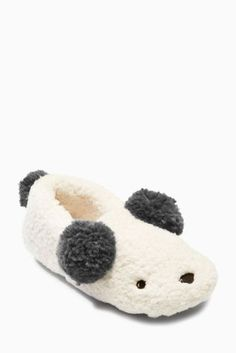 Buy Panda Character Slippers from the Next UK online shop