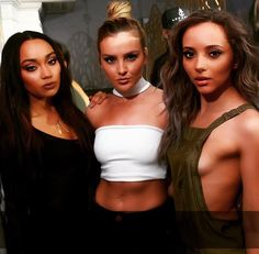 Leigh-Anne, Perrie, and Jade Perry Little Mix, Little Mix Jesy, Litte Mix, Bollywood Couples, Jesy Nelson, Perrie Edwards, Only Girl, Spice Girls, Best Friends Forever