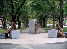 Meredith Bergmann,  Boston Women's Memorial , 2003  Courtesy of the artist
