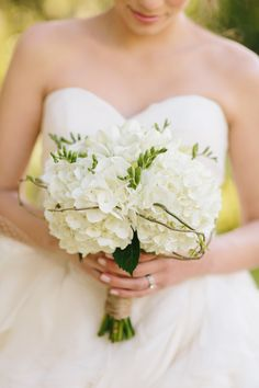 hydrangeas...  Read more - http://www.stylemepretty.com/california-weddings/2013/09/19/lo-boheme-kirstie-kelly-collections-from-mirelle-carmichael-photography/
