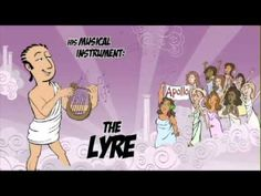 Greek Mythology - YouTube - the gods and goddesses - This is great! Use before parade and kids choose names.