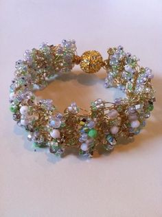 20 Free Wire Crochet Jewelry Patterns | Crochet bracelet pattern ...