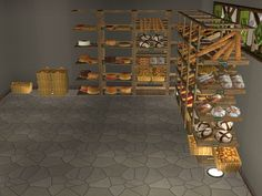 bakery set Sims 2, Bakery, Community, Ceiling Lights, Stuffing, Contents, Backgrounds, Shops, Business