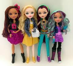 ever after high dolls - fashion
