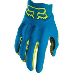 ATTACK GLOVE [TEAL] S | Fox Racing - Foxracing.com Bike Gloves, New Bicycle, Fox Racing, Teal, Products, Beauty Products, Turquoise
