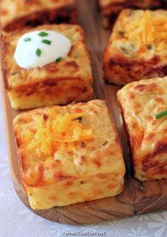 Patatesli Puf Böreği Tarifi   Yemek Çeşitleri ~ Yemek Tarifleri