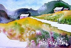 Super helpful info here on how to paint, how to avoid mistakes, and more: Jim's Watercolor Gallery - Demonstrations