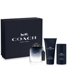 COACH 3-Pc. FOR MEN Gift Set - Shop All Brands - Beauty - Macy's