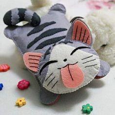 le petit chat Chi en feutrine !