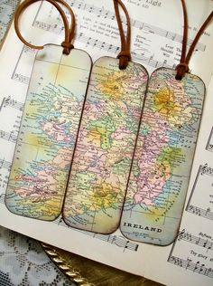 Spain and portugal bookmarks circa 1850 gifts for men set of 3 old ireland map gifts for men historical ireland map bookmarks set of ireland old world map bookmarks for men gifts for him gumiabroncs Images