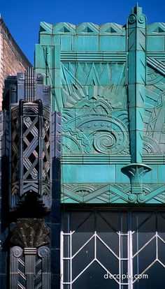The Mary Bowles Building, Broadway and Telegraph Avenue, Oakland, California. Designed by Douglas Dacre Stone, 1931.