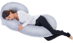 Groupon - Total Body Pregnancy and Maternity Pillow with Jersey Cover. Groupon deal price: $59.99