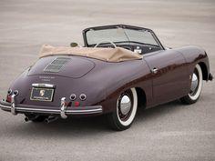 1953 Porsche 356 1500 Cabriolet by Reutter