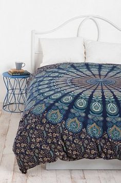 Paisley Medallion Duvet Cover by Urban Ourfitters.