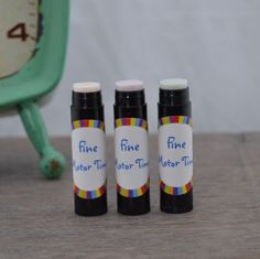 New! SUN REACTIVE CRAYONS - The colors magically appear when they are exposed to sunlight or UV black light.