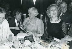 Steve Rubell, Estee Lauder, Bill Blass and Miss Lillian Carter at Studio 54.