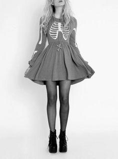 Skelet dress
