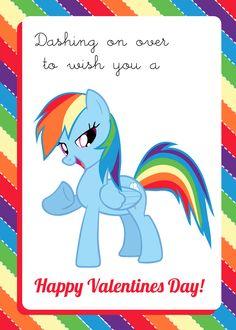 Rainbow Dash Valentine