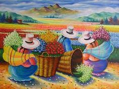 Imagen relacionada Arte Latina, Peruvian Art, Peruvian Women, Naive Art, Mexican Art, Art Pictures, Folk Art, Modern Art, Creations