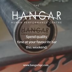 Spend quality time at your favourite bar this weekend! We have bars-a-plenty at Hangar HPC - no waiting!