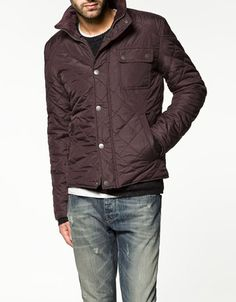 Quilted Nylon Jacket