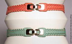 Cinturón con broche