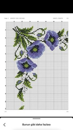 Cross Stitching, Cross Stitch Embroidery, Cross Stitch Designs, Cross Stitch Patterns, Cross Art, Baby Dress Patterns, Canvas Purse, Cross Stitch Flowers, Small Flowers