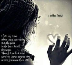 Missing you Mom & you Dad, more then ypu can ever imagine!